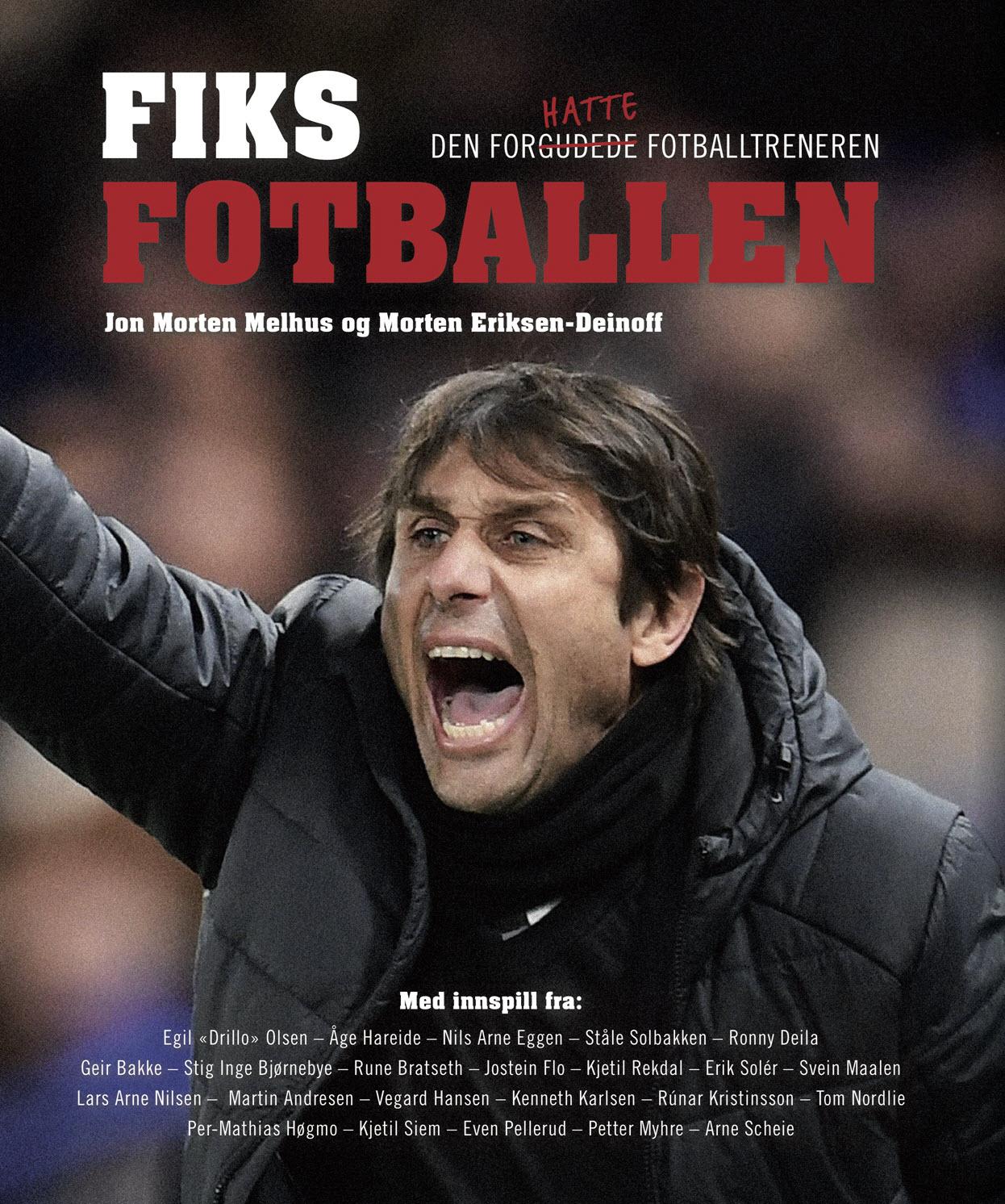 Boken som forklarer Solskjærs suksess og Mourinhos' utfordringer, hvordan Norge kan nå Top 10 på FIFA-rankingen, hvorfor trenere sparkes og hvordan det kan unngås, om Firerbandens suksess, tryllestav-syndromet og hvordan fotballklubber kan lykkes!