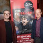Fotballtopper på lanseringen av «Fiks fotballen»