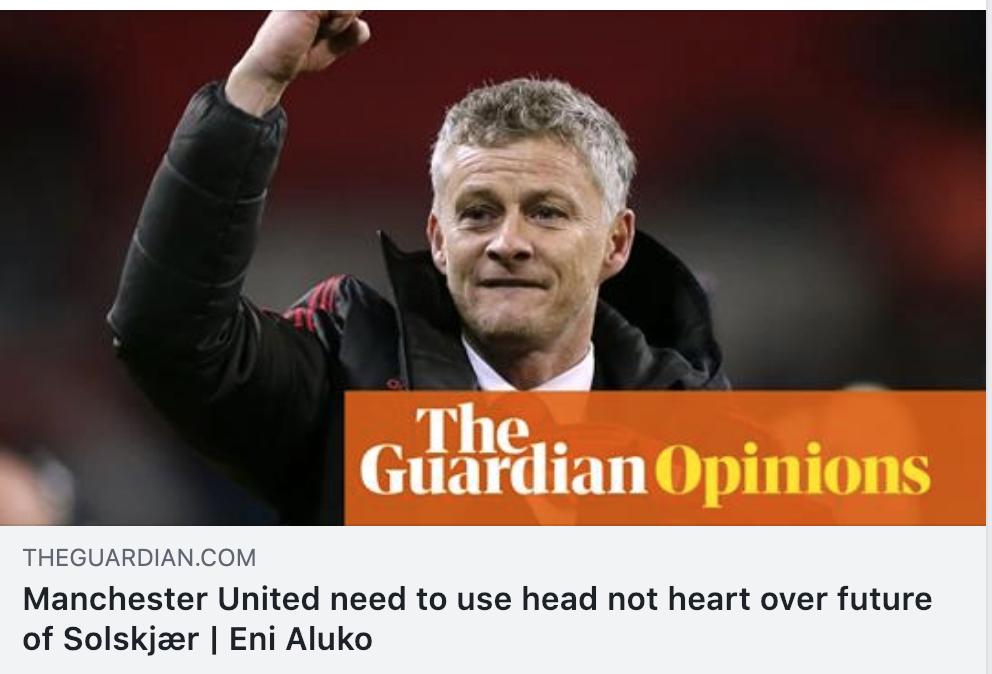 Solskjær eller Zidane i Manchester United?