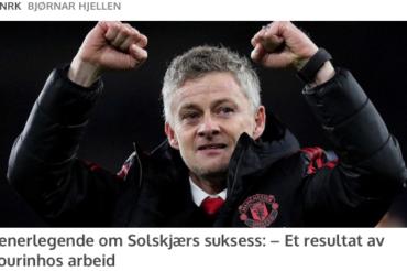 Pussig uttalelse fra van Gaal: «Forskjellen mellom Mourinho og Solskjær er ikke så stor».